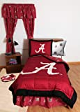 "College Covers Alabama Crimson Tide 63"" Curtain"