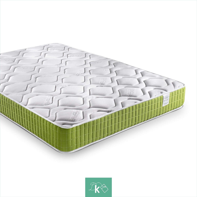 Dreaming Kamahaus Colchón Green Visco-Grafeno   Tejido Air Soft, viscoelástico, 140 x 200   Altura: ±18cm