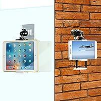 WANPOOL - Soporte de Pared para Tablets y teléfonos móviles (Compatible con Superficies Lisas y rugosas)