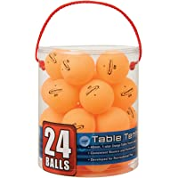 24-Count Halex 59125 Velocity Tub Of Table Tennis Balls (Orange)