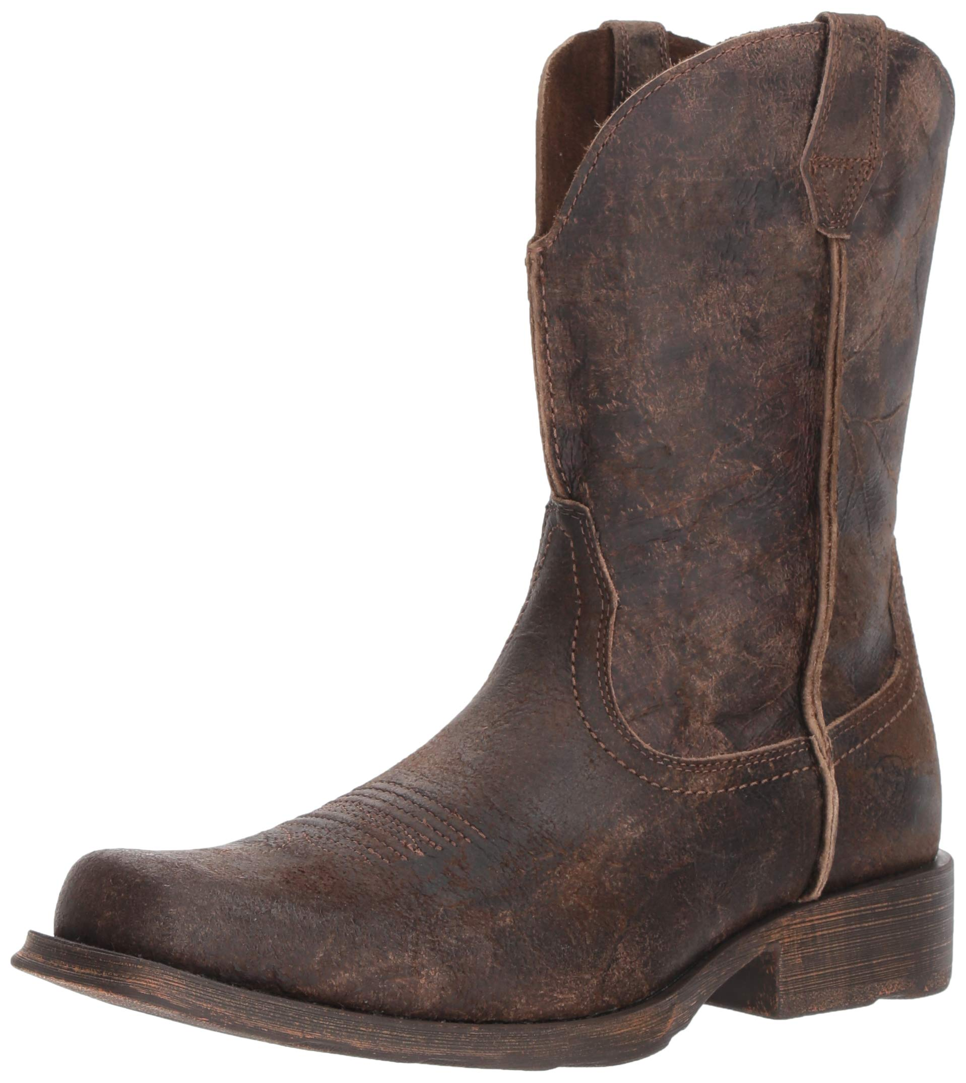 Ariat Men's Rambler Western Boot, Antiqued Grey, 13 2E US by ARIAT (Image #1)