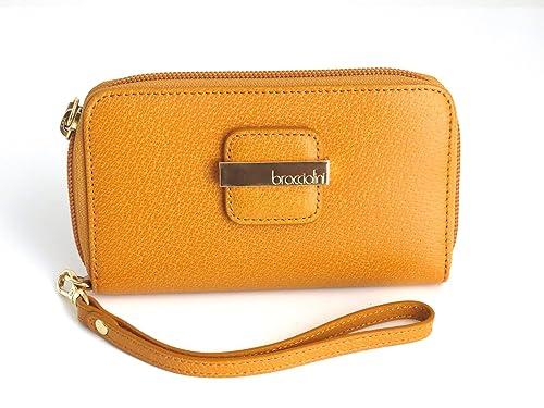 Braccialini - Cartera para Mujer Amarillo Amarillo: Amazon.es: Zapatos y complementos