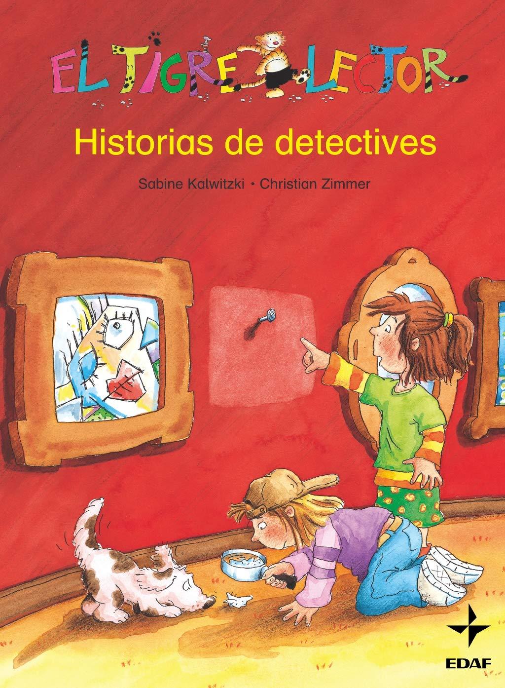 Historia De Detectives (Escalera de Lectura): Amazon.es: Kalwitzki, Sabine, Zimmer, Christian, Zimmer, Christian, Gómez, Susana: Libros