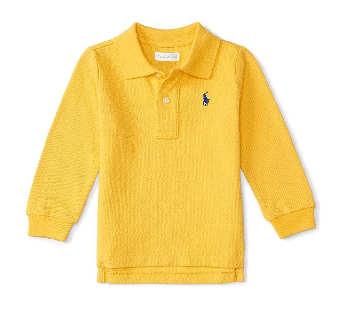 Ralph Lauren Baby Boy Long Sleeve Polo Shirt, Top Authentic 9m
