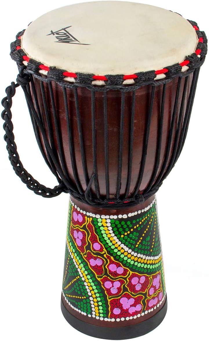 12inch Schultergurt Djembe afrikanische Trommel Schulter Carry Regendicht