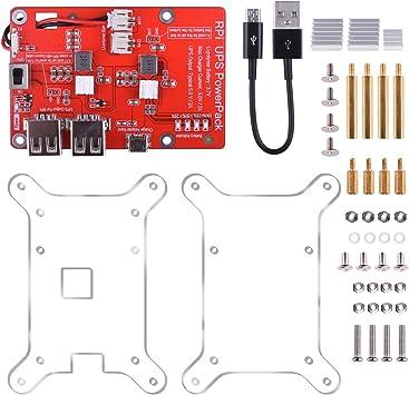 kuman UPS - Batería de Litio para Raspberry Pi 3 Modelo B, B+, Pi ...