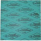 30 Length 30 Width 0.031 Thick 30 Width 30 Length Sur-Seal Inc. Sterling Seal GS700103130X30x4 Green Aramid Fibers//NBR 7001 Non-Asbestos Compressed Sheet Pack of 4 Pack of 4 0.031 Thick