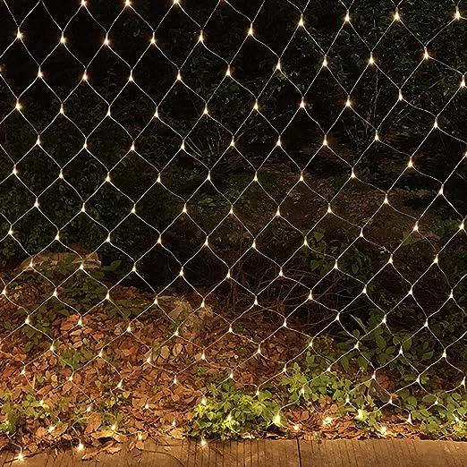 HEIFEN LED Luz Acoplamiento Rejilla Hada Jardín La Luz Lámpara ...