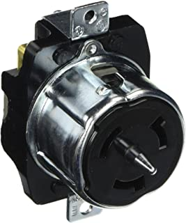 hubbell cs8369 locking receptacle, 50 amp, 3 phase 250v, 3 pole 4 welding receptacle 480v 3 phase hubbell cs8169 locking receptacle, 50 amp, 480v, 3 pole and 4 wire