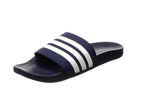 dd1726652385b1 adidas Herren Adilette Comfort Dusch-   Badeschuhe Blau Ftwbla Azuosc 000