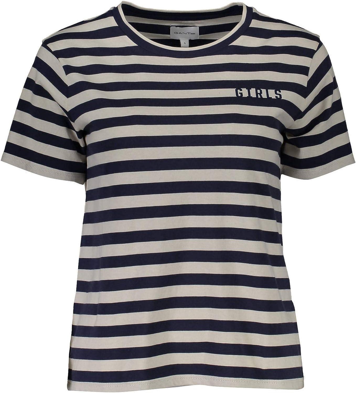 Gant Mujer Camisetas: Amazon.es: Ropa y accesorios