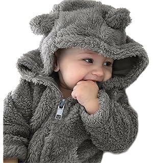 470228590aa7 Amazon.com  EGELEXY Kids Boys Girls Winter Autumn Coat Children Bear ...