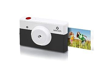 Amazon.com: Minolta Instapix 2 en 1 Cámara digital de ...