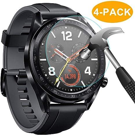 CAVN Huawei Watch GT Protector de Pantalla, [4 Packs] Impermeable ...