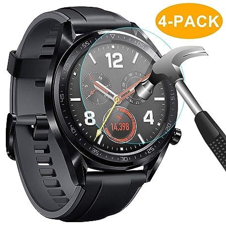 CAVN Compatible Huawei GT Watch protection décran [4 packs], étanche économiseur