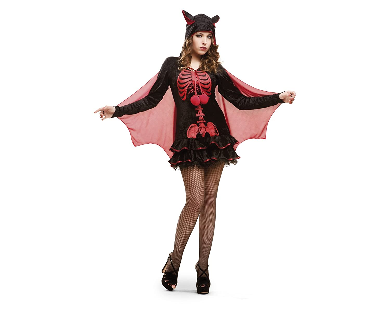 My Other Me Me - Disfraz de esqueleto murciélago, para adultos ...