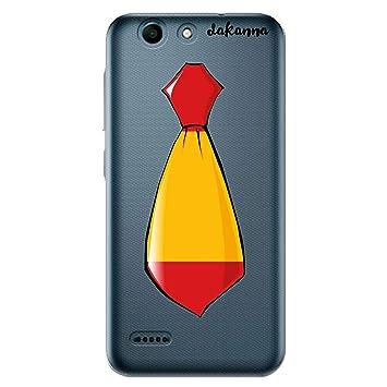 dakanna Funda Compatible con [Vodafone Smart E8] de Silicona ...