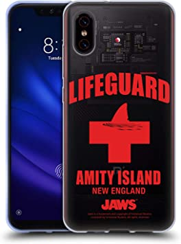 Official Jaws Lifeguard I Key Art Soft Gel Case Compatible for ...