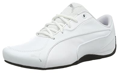 separation shoes 5f966 12208 Puma Unisex Adults  Drift Cat 5 Core Low-Top Sneakers, White 03,