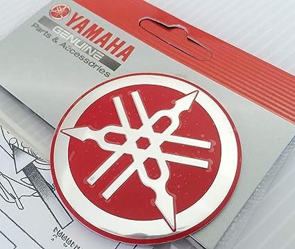 100 Genuine 55mm Durchmesser Yamaha Stimmgabel Aufkleber