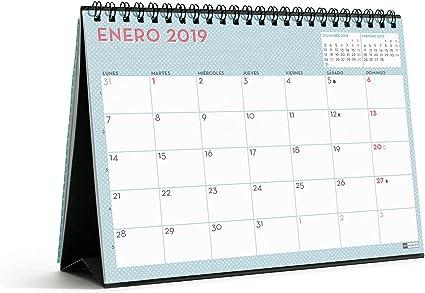 Miquelrius 28010 - Calendario sobremesa: Amazon.es: Oficina y papelería