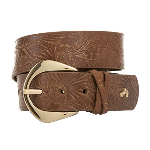 VÉLEZ 20318 Leather Belts For Women | Cinturones De Cuero Para Mujer Honey S