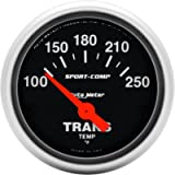 Auto Meter 3357 Sport-Comp 2-1/16' Short Sweep Electric Transmission Temperature Gauge