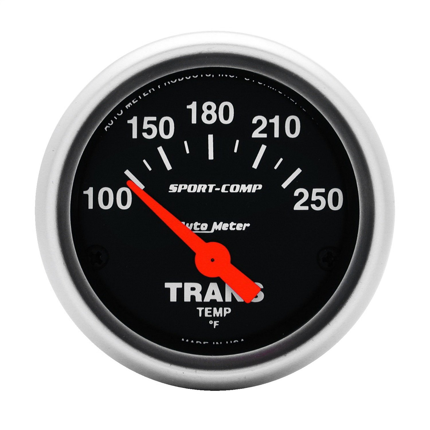 Auto Meter 3357 Sport-Comp Electric Transmission Temperature Gauge by AUTO METER