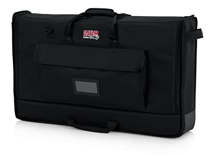 876ce0ced95a Amazon.com: Gator Cases Padded Nylon Carry Tote Bag for Transporting LCD  Screens, Monitors and TVs Between 27