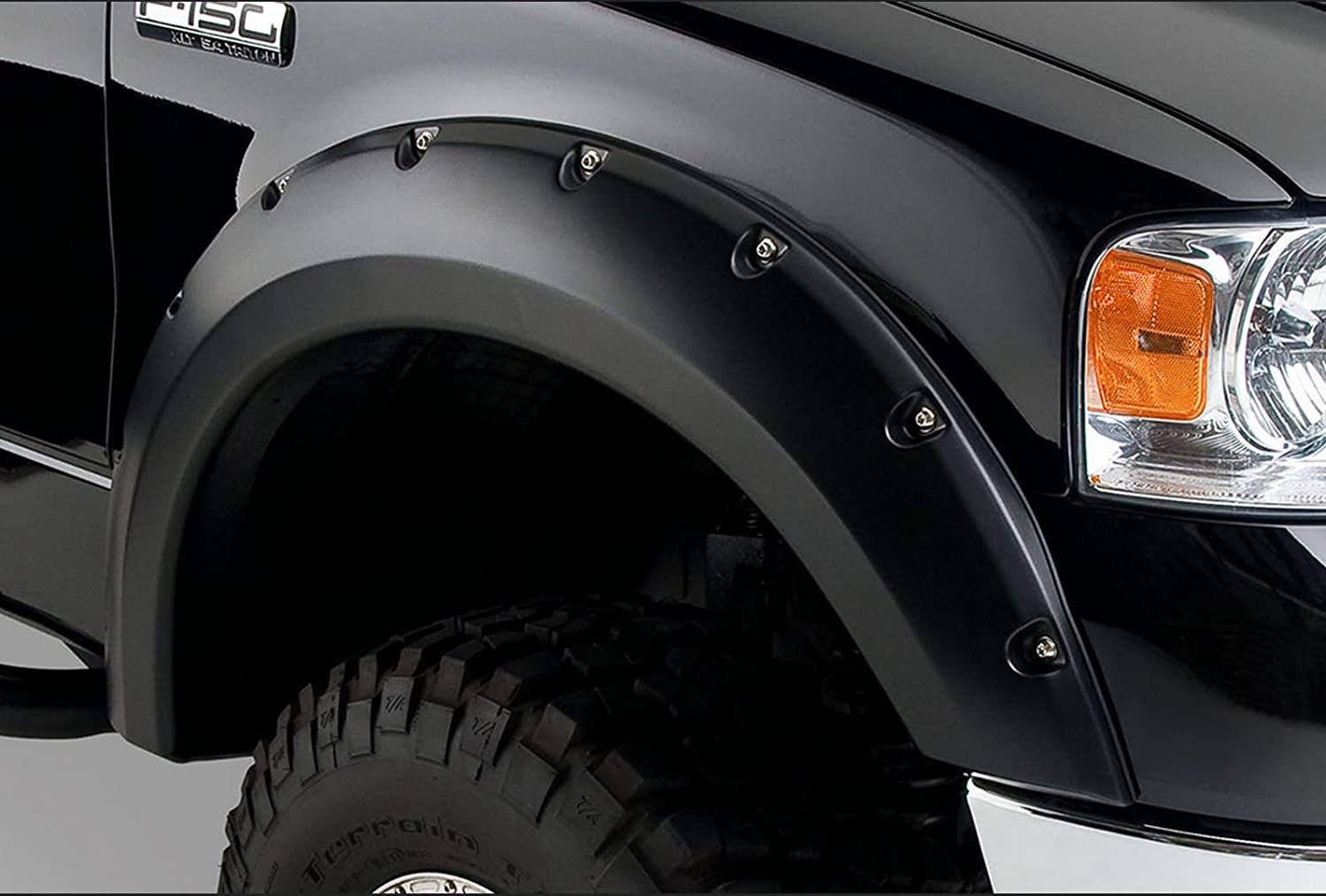 Dura-Flex Pocket Style 4 Piece fender Flares Kit Wheel Cover 2007-2013 GMC Sierra 1500 Fleetside