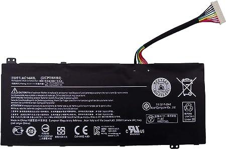 11 4v 4605mah Laptop Battery Ac14a8l 3icp7 61 Elektronik