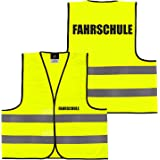 GERMAS 911.00-52-L Meshweste PREMIUM//Fahrschule Gr L Fluogelb