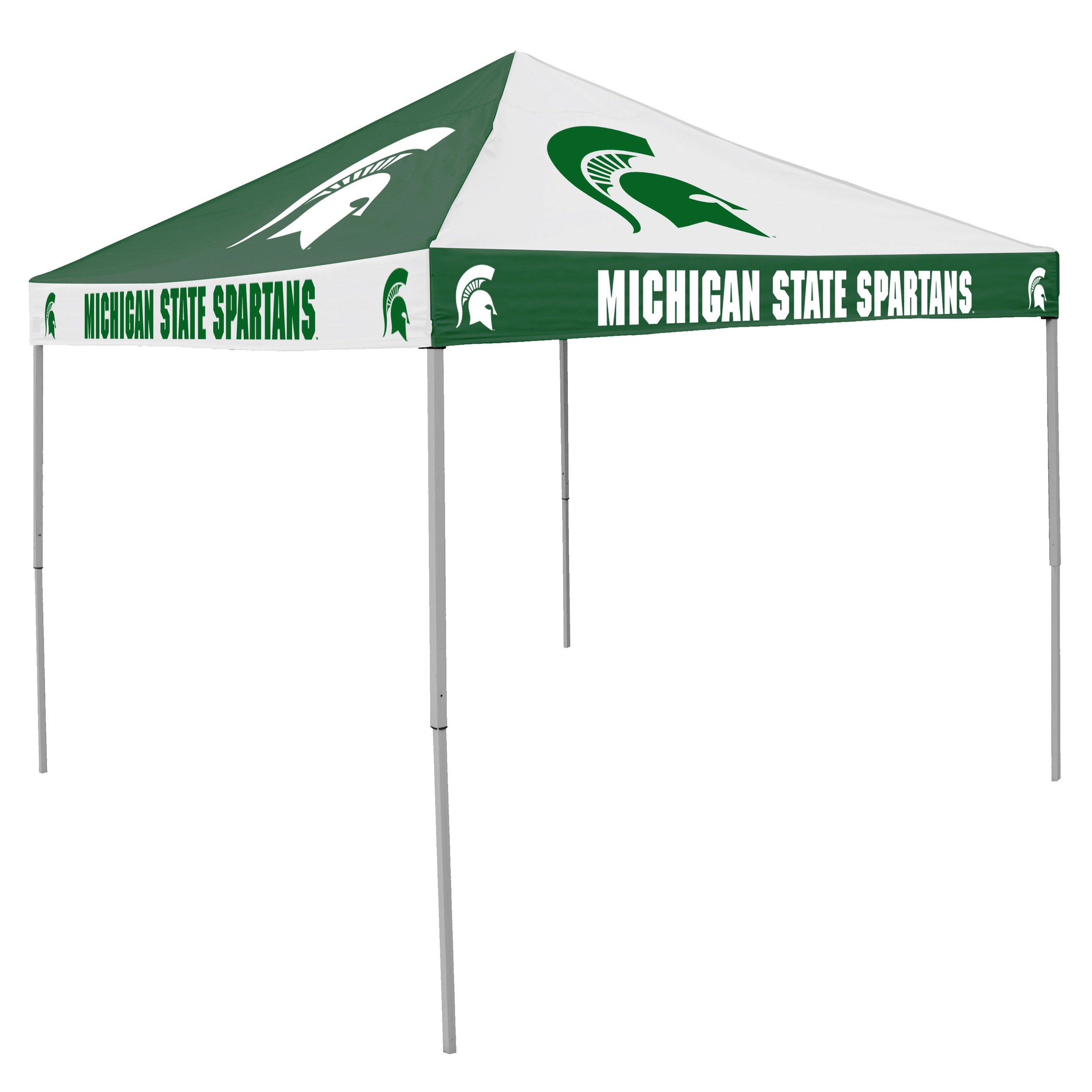 Logo Brands NCAA CB Tent, Michigan State, 9 foot X 9 foot by Logo Brands