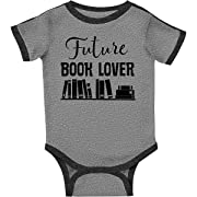 inktastic Book Lover Future Reader Childs Infant Creeper