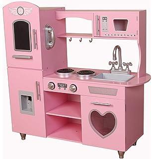 226e2b1533edb Kiddi-Style Supreme Classic Retro Hearts Chefs XLarge Childrens Kids  Pretend Play Toy…