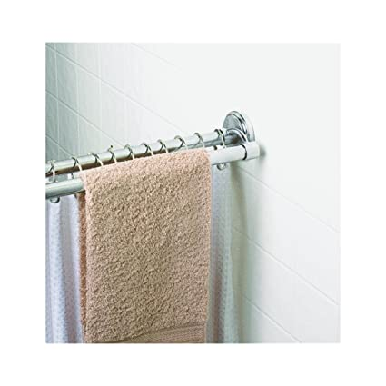Amazon.com: Zenith Prod. 36601SS04 Double Shower Rod.: Home & Kitchen