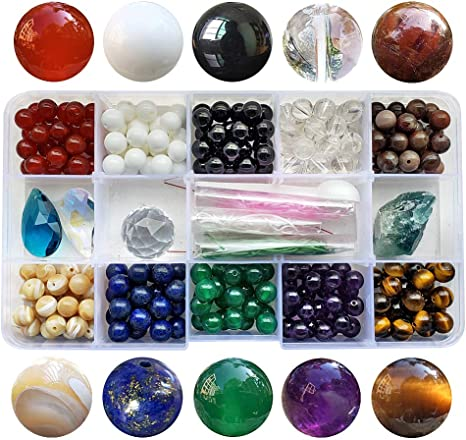 100 Count 8mm assorted colored BEAD IN A BEAD acrylic beads EXTRA COLOR