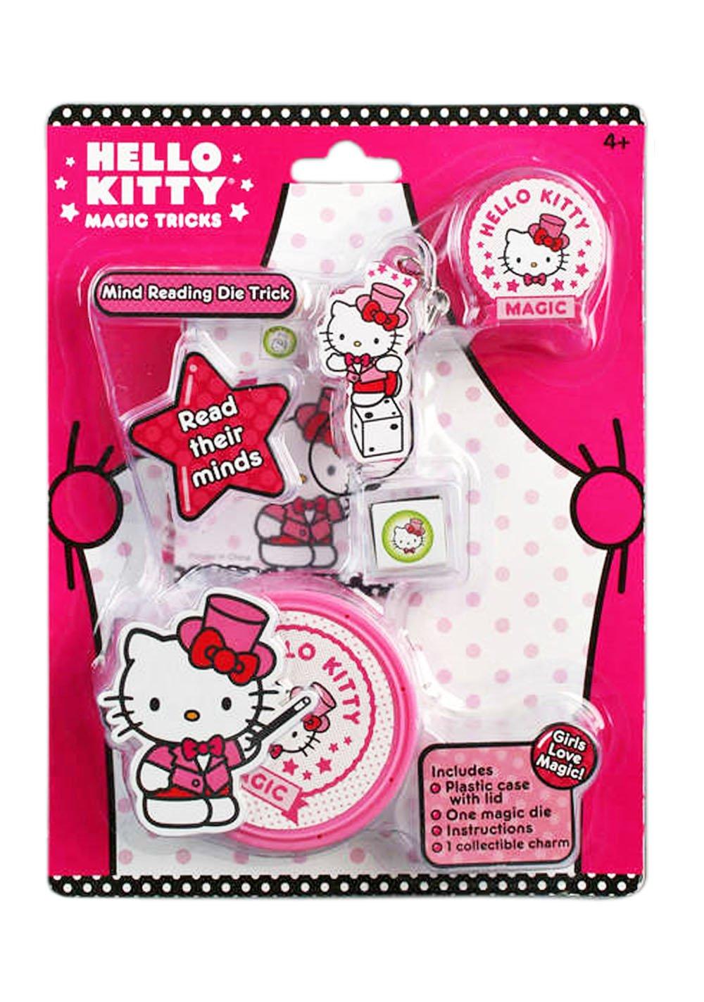 Hello Kitty Magic MS2007 - Décoration de Fêtes - Tour de Magie - Le Dé Télépathique