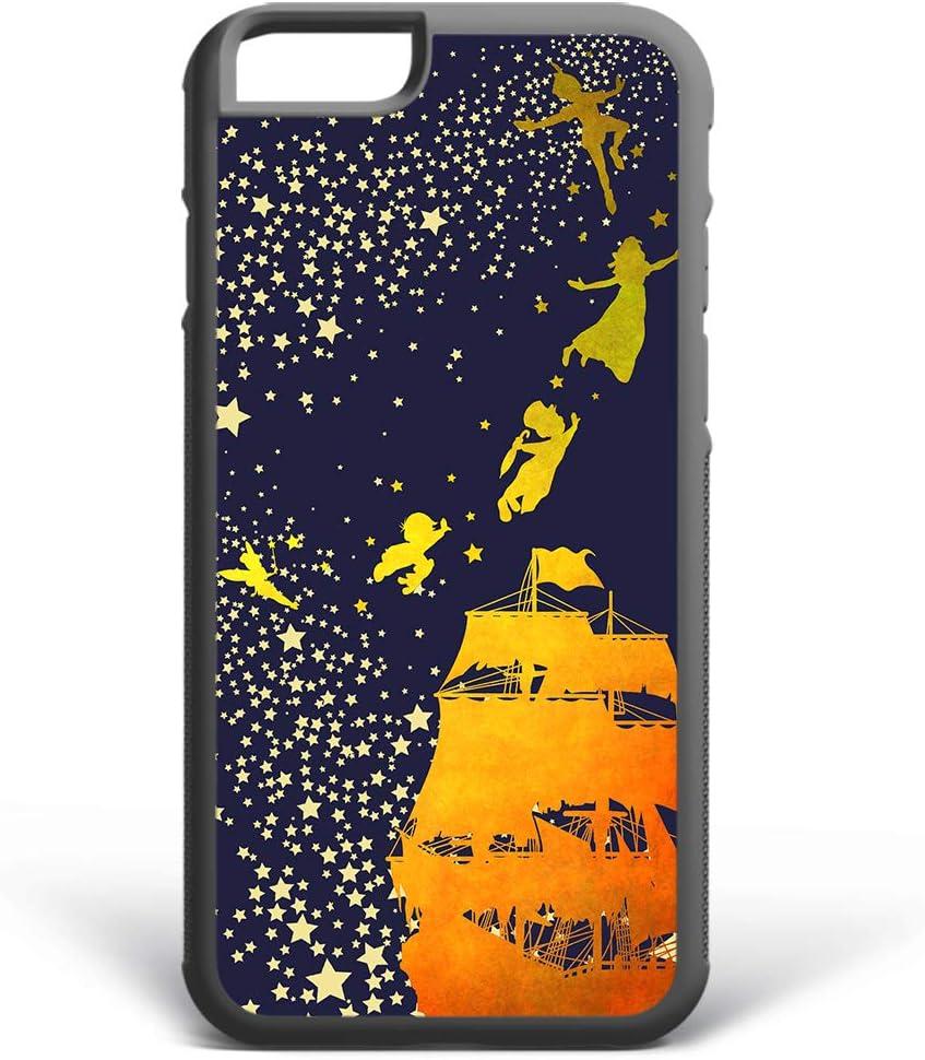 Kaidan Peter Pan iPhone 8 7 Plus 11 Pro Max Stars XR X XS SE Case Tinker Bell 6 6s Samsung Galaxy S8 S9 Plus Fairy S10 Lite S10e Magic Night Note 8 9 S10 Plus Pirate Ship Google Pixel 3 2 XL 2dap5