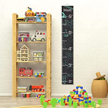 Custom Personalized Name Child Growth Chart - Science