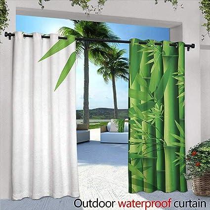 Amazon.com: Tim1Beve Cortinas para Dormitorio Bambú Moderna ...