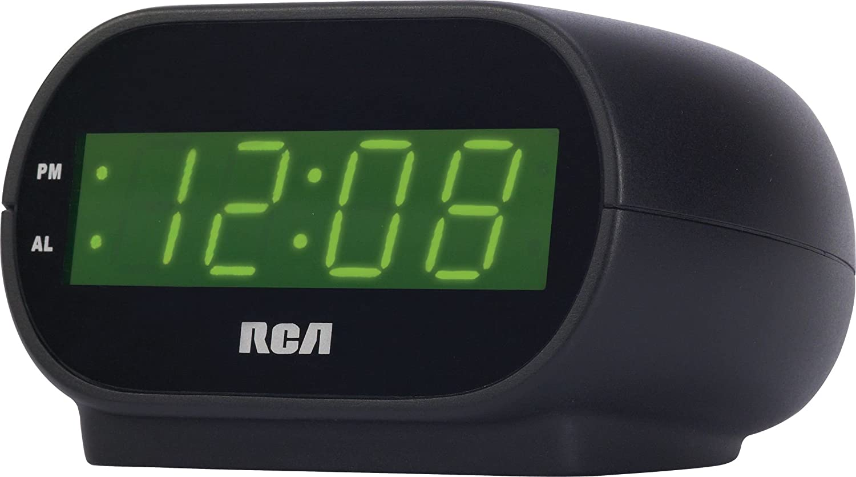 rca alarm clock how to set alarm