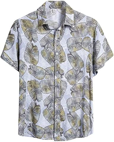 Nueva Camisa Hawaiana para Hombre Camisas Estampada Unisex Primavera y Verano Moda Casual Shirt cómodo Suave Top de Manga Corta de Vacaciones en la Playa: Amazon.es: Ropa y accesorios