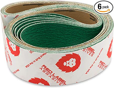 120 Grit Zirconia Alumina Abrasive Belt 2 Wide x 48 Long