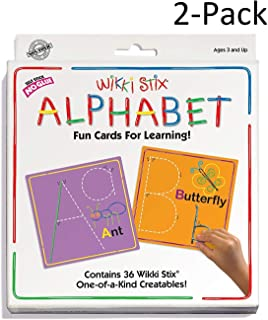 product image for WikkiStix Alphabet Cards Set Pack of 2