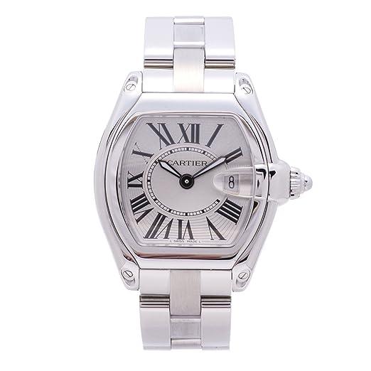 Cartier Roadster Cuarzo Mujer Reloj 2675 (Certificado) de Segunda Mano: Cartier: Amazon.es: Relojes