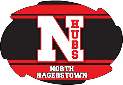 Amazon.com : R and R Imports North Hagerstown High School Hubs Hagerstown  Maryland Sports Team 5x6 Inch Swirl Car Fridge Magnet : Sports & Outdoors