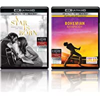 A Star Is Born & Bohemian Rhapsody (4K UHD & HD) (4-Disc)