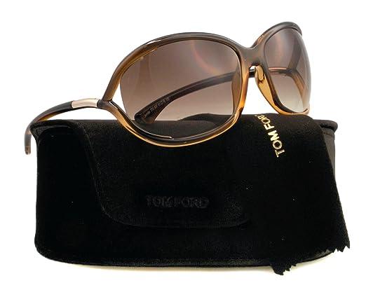 Surréaliste Tom Ford Sonnenbrille Jennifer (FT0008 50F 61): Amazon.fr YH-25