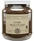 India Tree Dark Muscovado Sugar, 2.8 lb (Pack of 2)